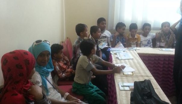 "The conclusion of the program is directed to children ""be fine"" Hosting and Diane Association for Community Development training program for children ""be fine"" Since the program aims to recover from the traumas of war and conflict."