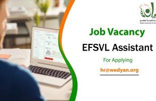 Job Vacancy (EFSVL Assistant)
