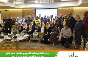 WEDYAN participates in the consultation meeting between the European Union and civil society organizations Amman - Jordan